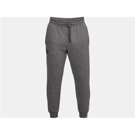 Under Armour 13207400203X Mens Rival Fleece Jogger Athletic Pants Charcoal 3X