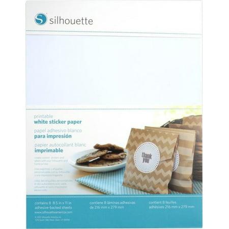 printable white sticker paper walmartcom