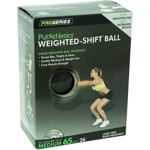PurAthletics Weighted Ball, 65cm