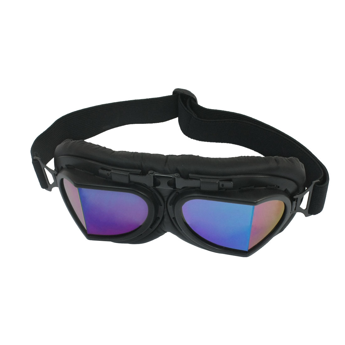 Women Man Black Tinted Lens Ski Snow Snowboarding Racing Sport Goggles by