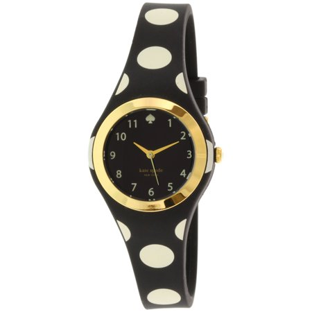 Kate Spade Women's Rumsey 1YRU0610 Black Rubber Quartz Fashion Watch