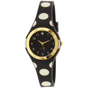Kate Spade New York Women's Rumsey 1YRU0610 Black Rubber Quartz Fashion Watch