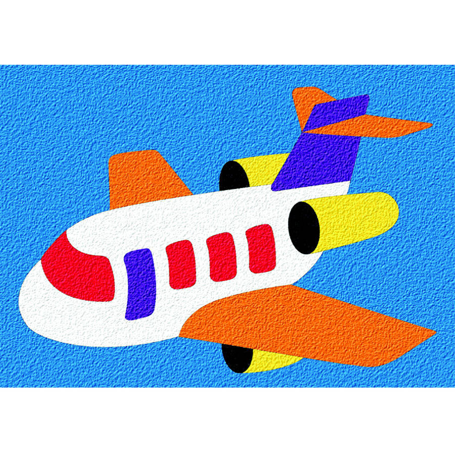 Airplane Crepe Rubber Puzzle by Patch Products