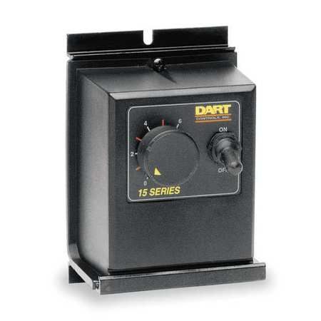 DART CONTROLS 15DVE DC Speed Control, 90/180VDC, 3A, NEMA 4/12