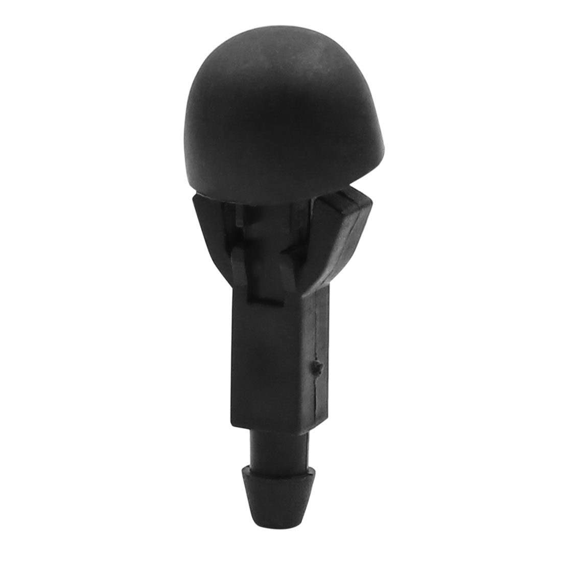 Universal Black Windshield Washer Nozzle Cleaning Sprayer for Car 45 x 17mm 3pcs - image 2 of 5