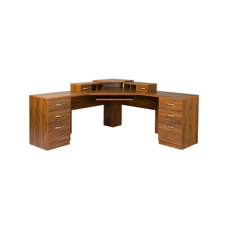 OS Home Office Furniture Office Adaptations L Shape Computer Desk Wal