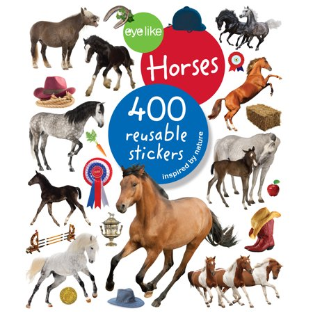 Eyelike Stickers: Horses - Paperback (Horse Show Numbers)