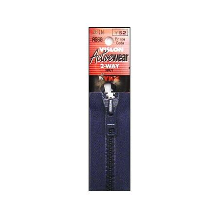 YKK Vislon 2 Way Separating Zipper 28