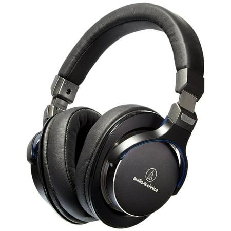 Audio-Technica ATH-MSR7BK SonicPro Over-Ear High-Resolution Audio Headphones, Black