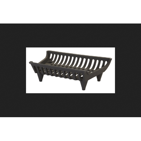 Vestal Painted Cast Iron Fireplace Grate Indoor and Outdoor ()