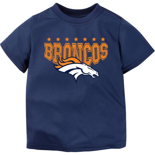 NFL Denver Broncos Boys Short Sleeve Performance Team T Shirt