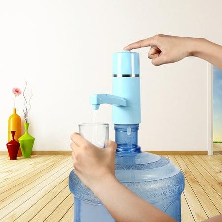 Greensen 1x Wireless Rechargeable Bottle Drinking Water Electrical Pump Portable Drinkware Dispenser USB, Water Pump Dispenser,Electric Water Pump - image 9 de 9