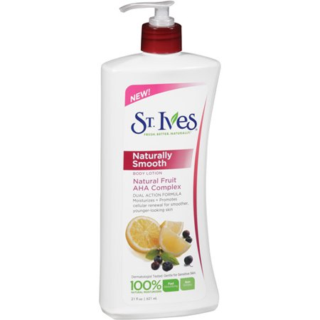 st ives naturally smooth natural fruit aha complex body lotion 21 oz. Black Bedroom Furniture Sets. Home Design Ideas