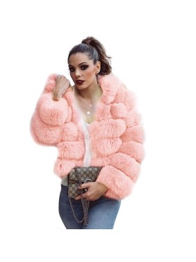 2e3f565f6be958 Product Image New Womens Thick Faux Fur Big Hooded Parka Overcat Peacoat Winter  Coats Jackets