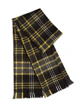 Japanese Solid and Plaid Scarf Soft and Warm Better than Cashmere Winter Scarf Perfect for Boys Kids Toddlers Girls - Black Plaid