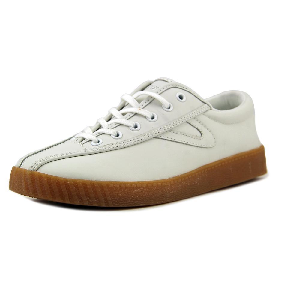Tretorn NYLite Plus Women Round Toe Leather White Sneakers by Tretorn