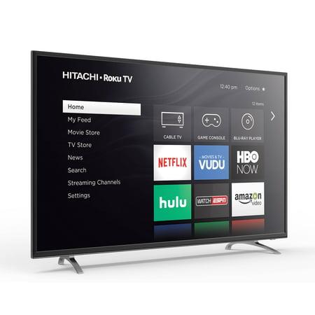 Hitachi 60   Class 4K  2160P  Roku Smart Led Tv  60Rh2