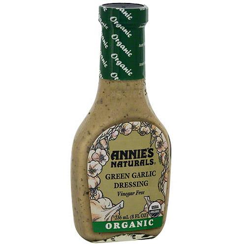 Annie's Natural Organic Green Garlic Dressing, 8 oz (Pack of 6)
