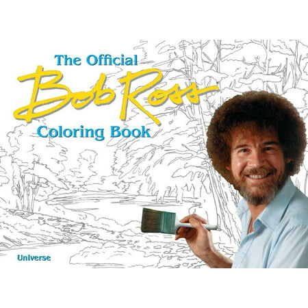 Bob Ross Painting Books (The Official Bob Ross Coloring Book)