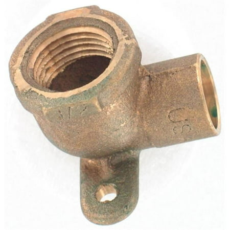 50in. 90 degrees Low Lead Compression X Female Drop Ear Elbow - image 1 of 1