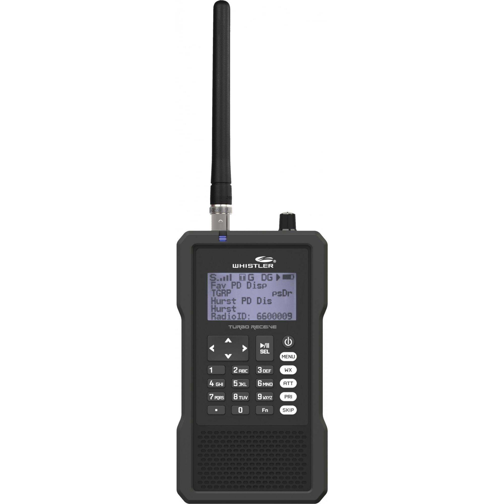 Whistler TRX-1 Handheld DMR MotoTRBO Digital Trunking Scanner by Whistler