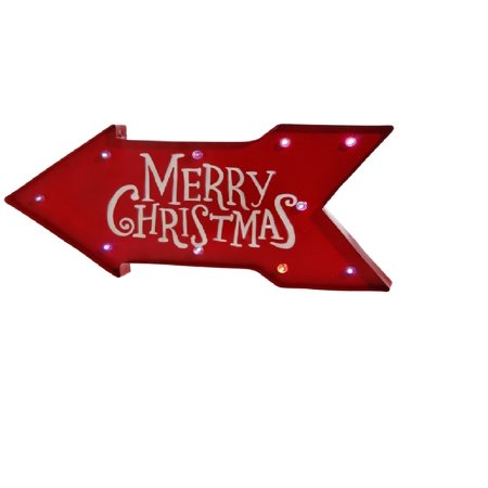 Lighted Christmas Sign - 23