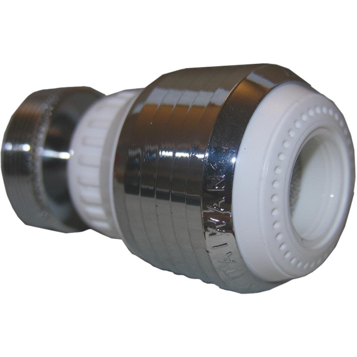 Lasco Swivel Spray Dual Thread Dual Pattern Faucet Aerator