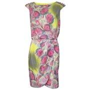 Jessica Simpson Women's Floral Print Blouson Dress