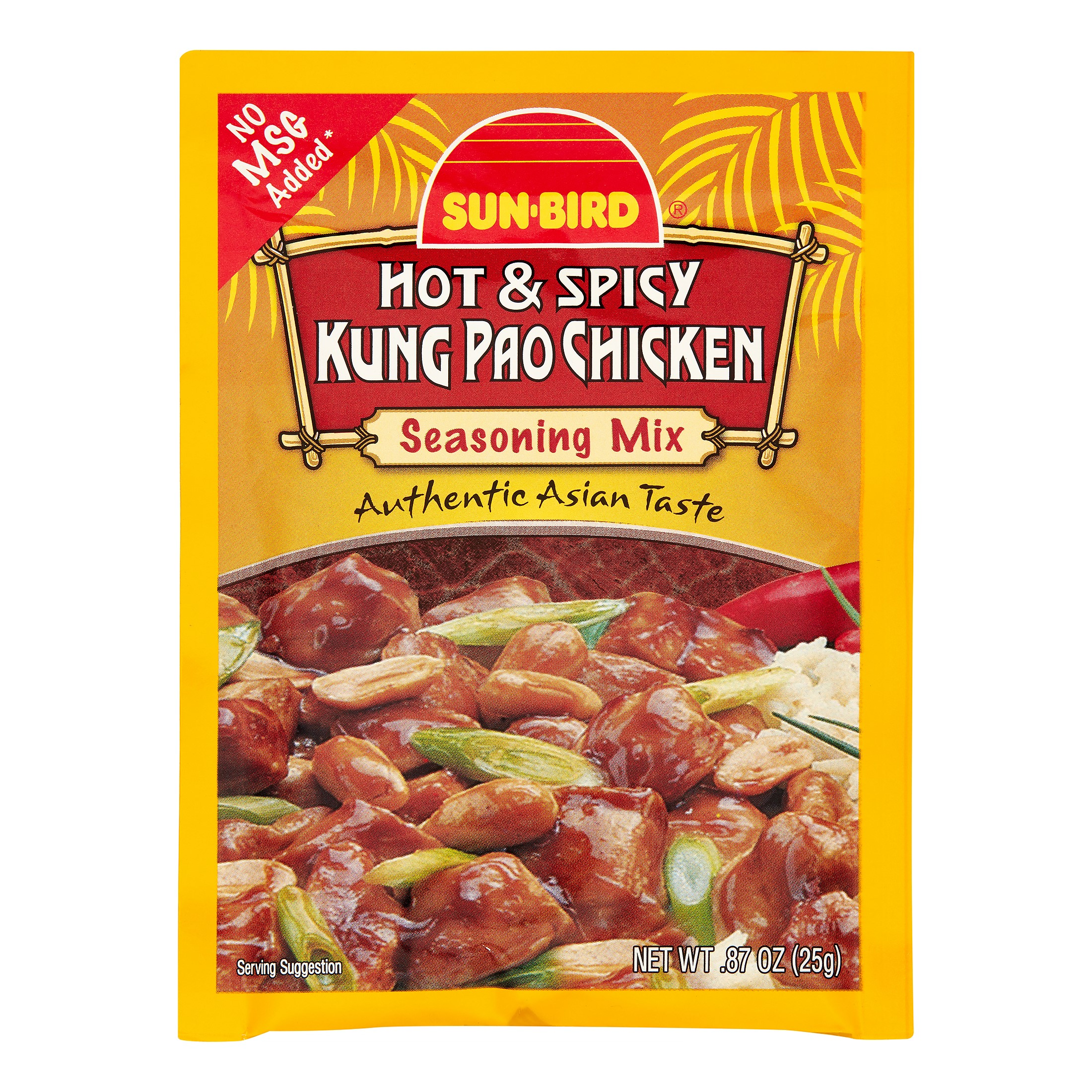 Sun?Bird Seasoning Mix, Hot & Spicy Kung Pao Chicken, 0.87 Oz
