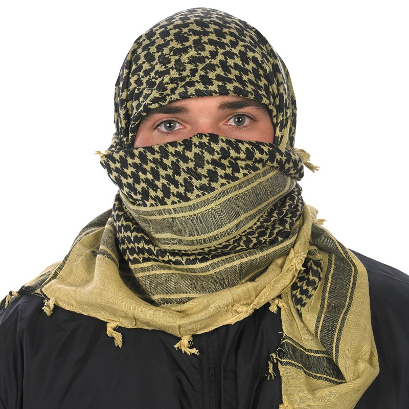 Rothco Shemagh Tactical Desert Scarf - Coyote Brown  a3866d0ea75
