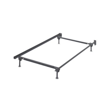 ashley twin metal bed frame in black - Ashley Bed Frame