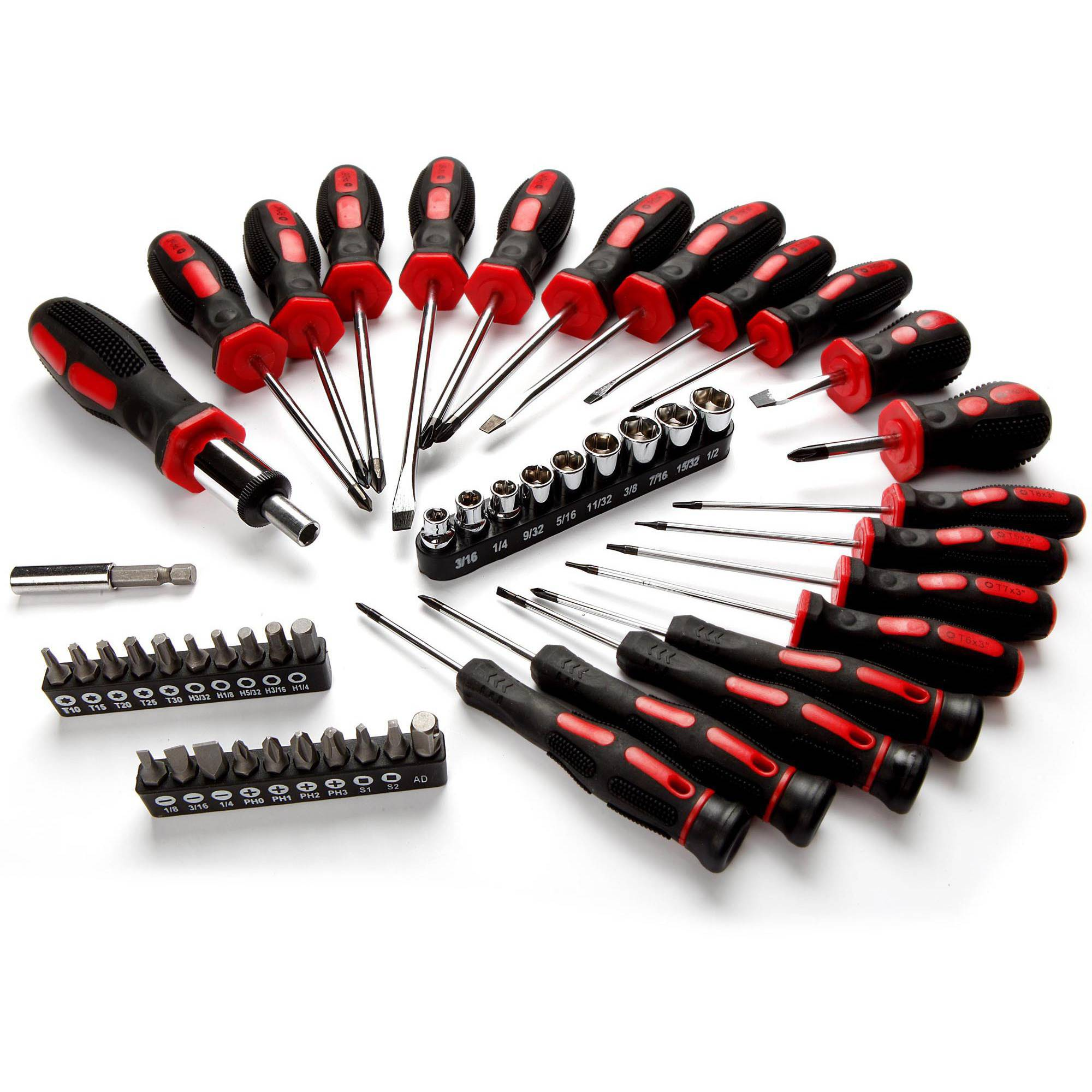 HyperTough 50 Piece Screwdriver Set