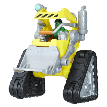 Playskool Heroes Marvel Super Hero Adventures Power Dozer (Hulk Attack Vehicle)