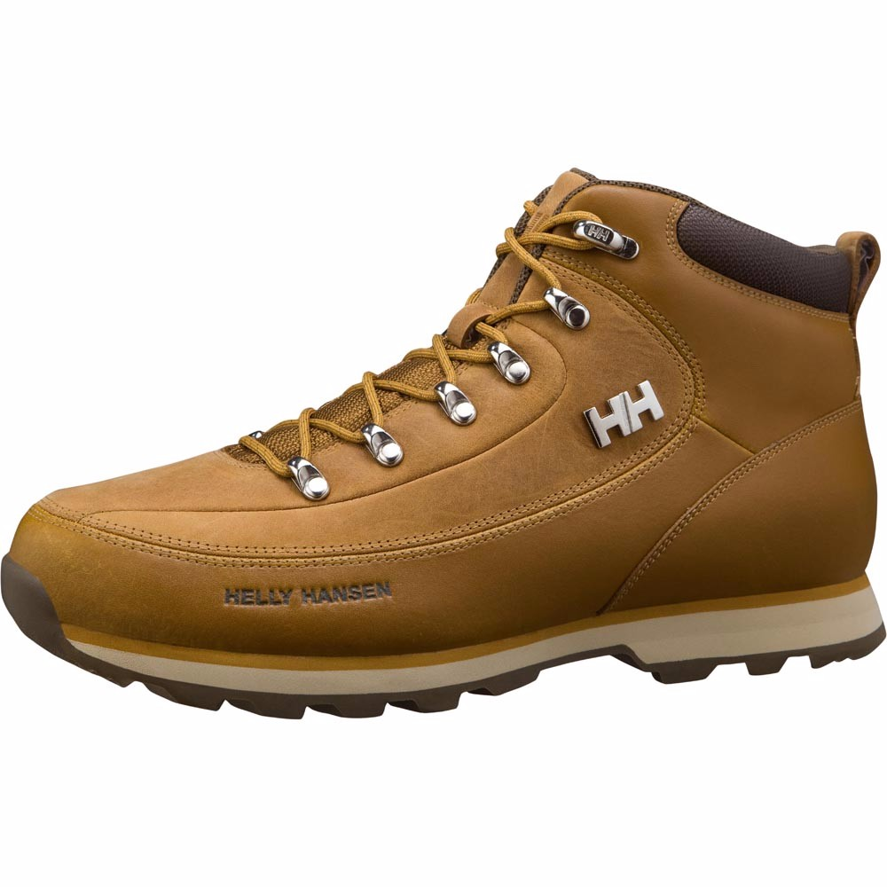 Helly Hansen Mens Shoes The Forester - Bone Brown / Khaki - 8