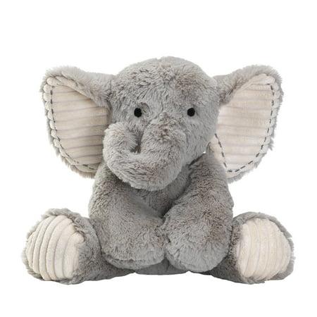 Safari Friends Elephant (Lambs & Ivy Jungle Safari Gray Plush Elephant Stuffed Animal Toy - Jett)