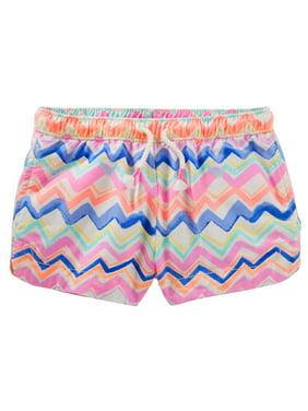 OshKosh B'gosh Girls' Sun Shorts - Aztec-3T