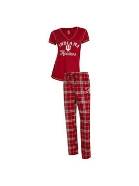 ace2f3ca016 Product Image Indiana University Hoosiers Women s Pajama Set Duo Sleep Set
