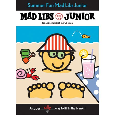 Summer Fun Mad Libs Junior - Mad Libs Halloween