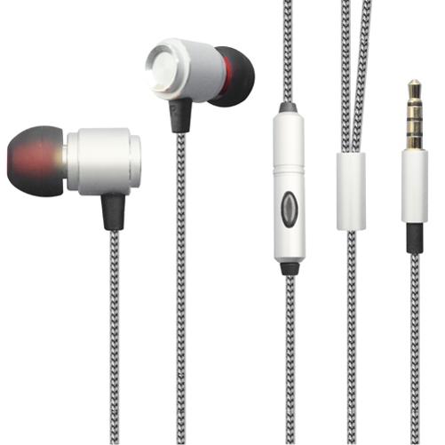 Premium Hi-Fi Sound Earbuds Hands-free Earphones Mic Dual Metal Headphones Headset Compatible With Motorola Moto G6