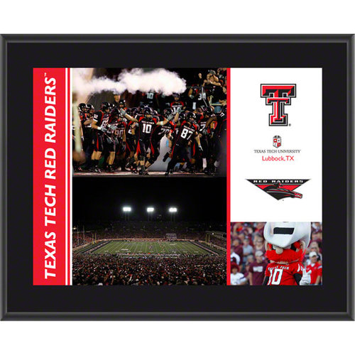 NCAA - Texas Tech Red Raiders Plaque | Details: Sublimated, 10x13, NCAA Plaque