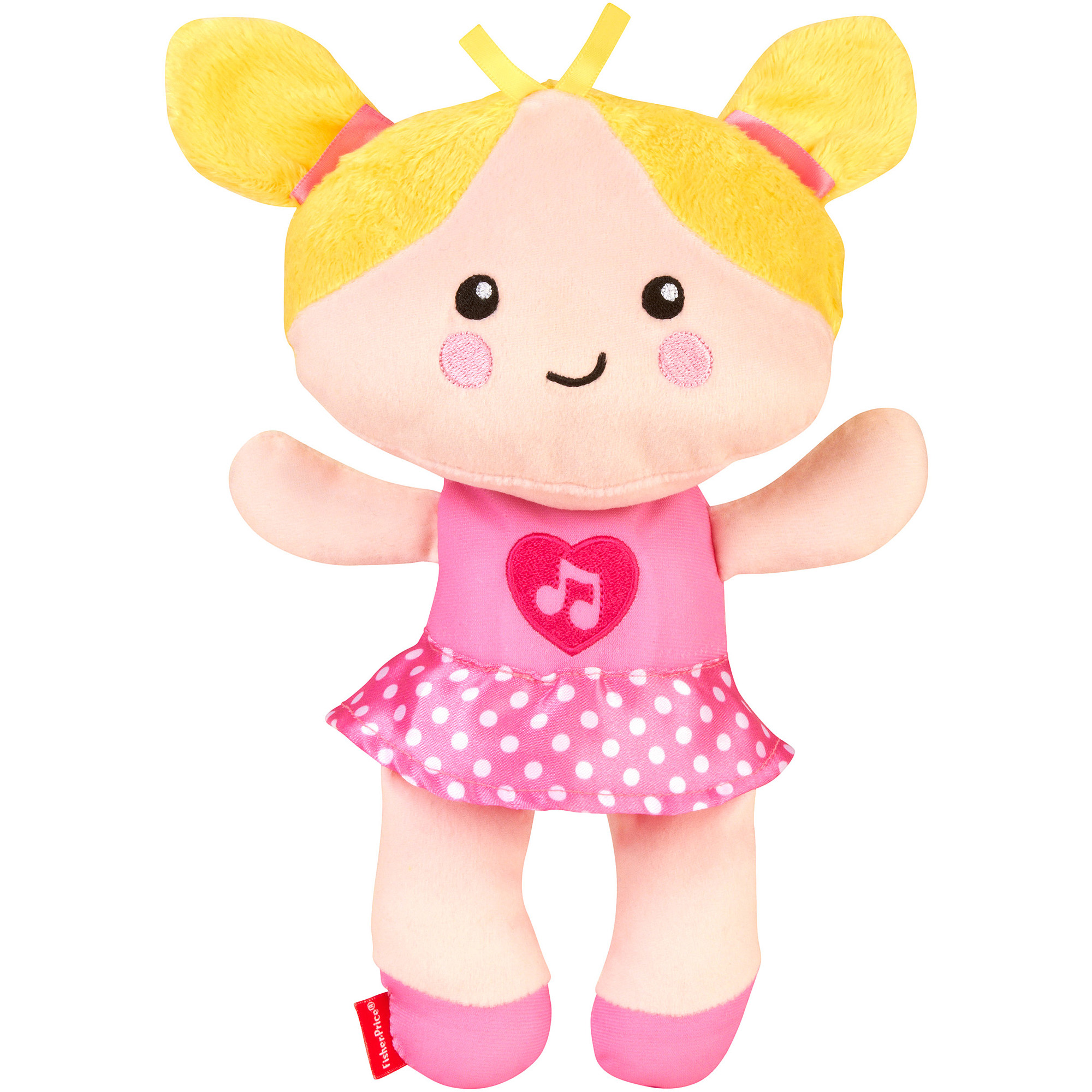 Fisher-Price Growing Baby Silly & Sweet Baby Doll