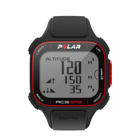 Polar RC3 w/ GPS Fitness Heart Rate Monitor Computer Watch Polar- 90048169