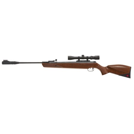 (Ruger Yukon Magnum, .22 Cal Pellet Break Barrel Air Rifle, Wood, Umarex Airguns)