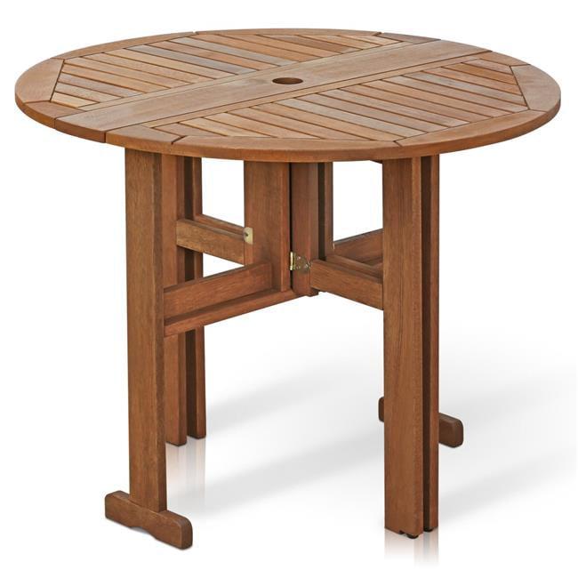 Tioman Outdoor Hardwood Gateleg Round Table
