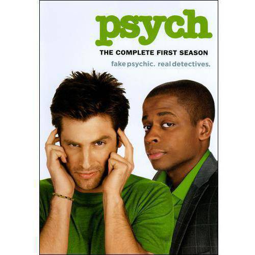 PSYCH-COMPLETE FIRST SEASON (DVD) (4DISCS/ENG/ENG SDH/1.78:1)