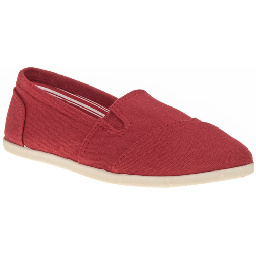Faded Glory Women's Basic A-line Canvas Slip-on