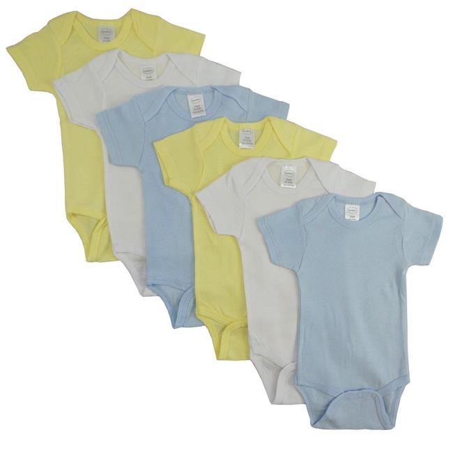 Bambini CS-002M-002M Pastel Boys Short Sleeve, Assorted - Medium - image 1 de 1