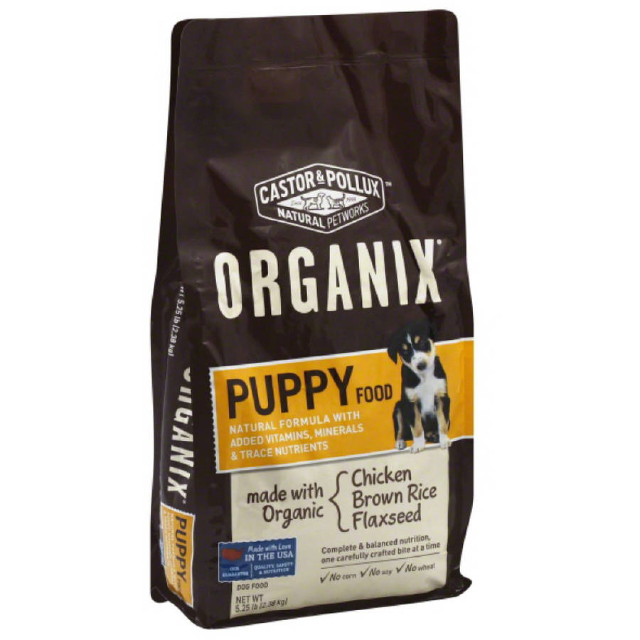 Organix Dog Food, Puppy, 5.25 oz, 5-Pack