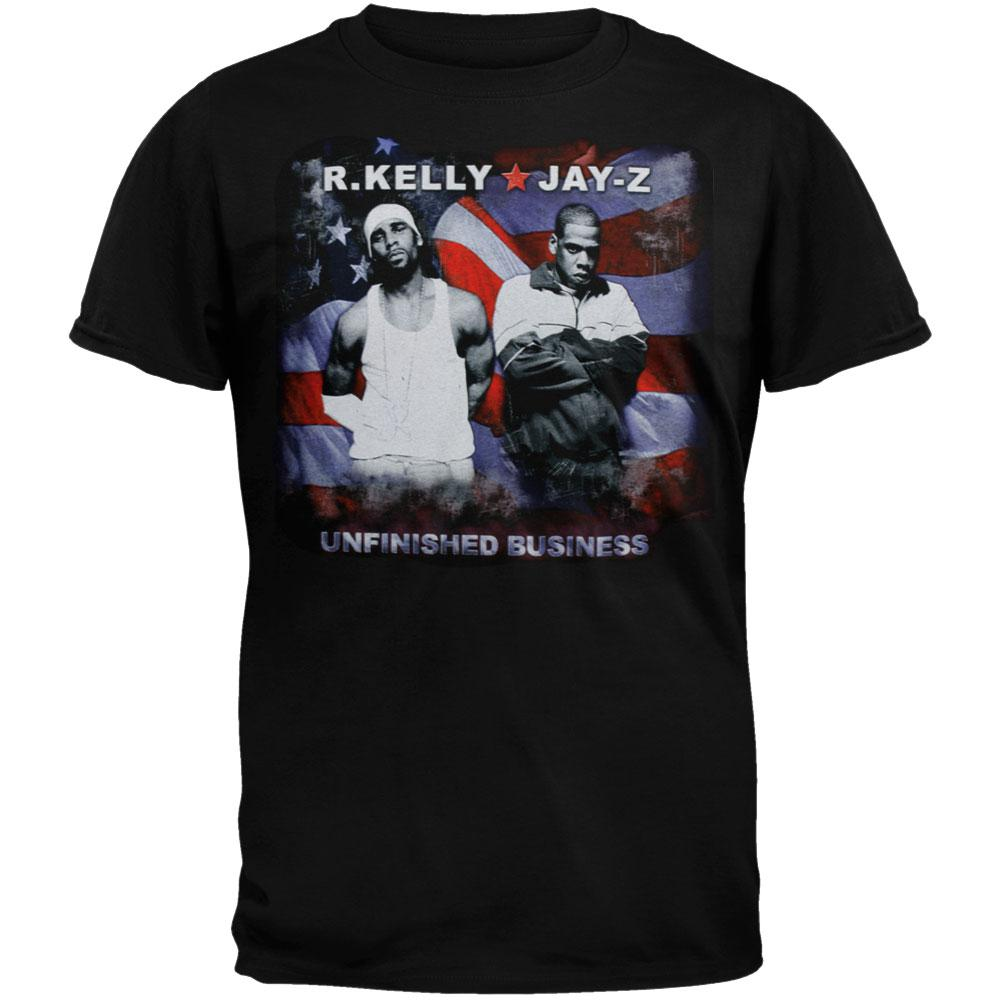 Jay-Z & R. Kelly - Adventure Flag T-Shirt