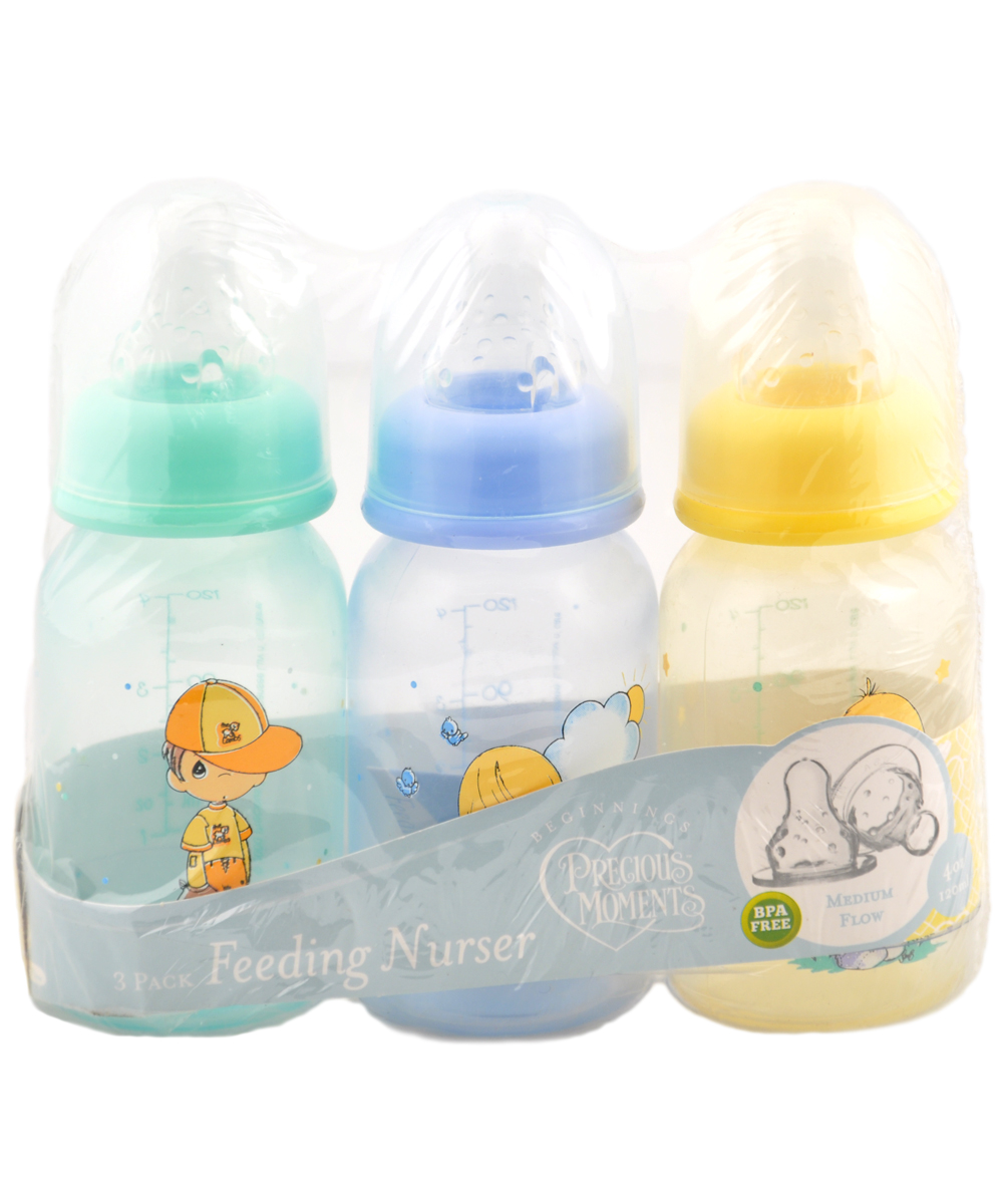 "Precious Moments ""Boys Will Be Boys"" 3-Pack Bottles (4 oz.) by Precious Moments"